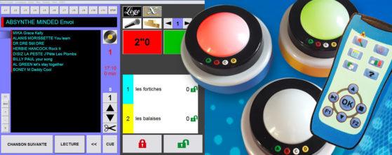 Enjoy iZiMiX : logiciel blindtest, logiciel quiz, buzzer